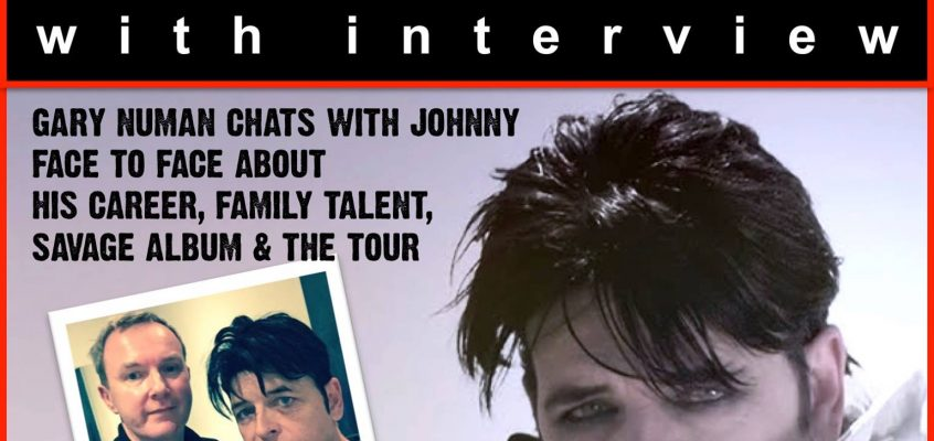 Johnny Normal in conversation with GARY NUMAN