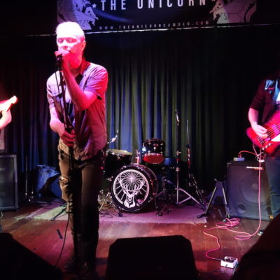 Angelbomb live at The Unicorn, Camden.