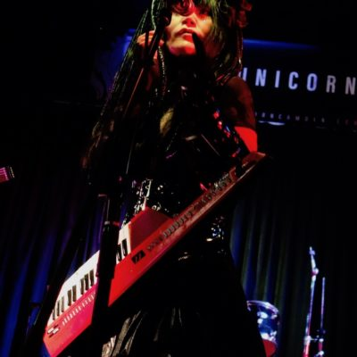 Nekoi from Psydoll live at The Unicorn, Camden.