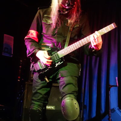 Ucchi from Psydoll live at The Unicorn, Camden.